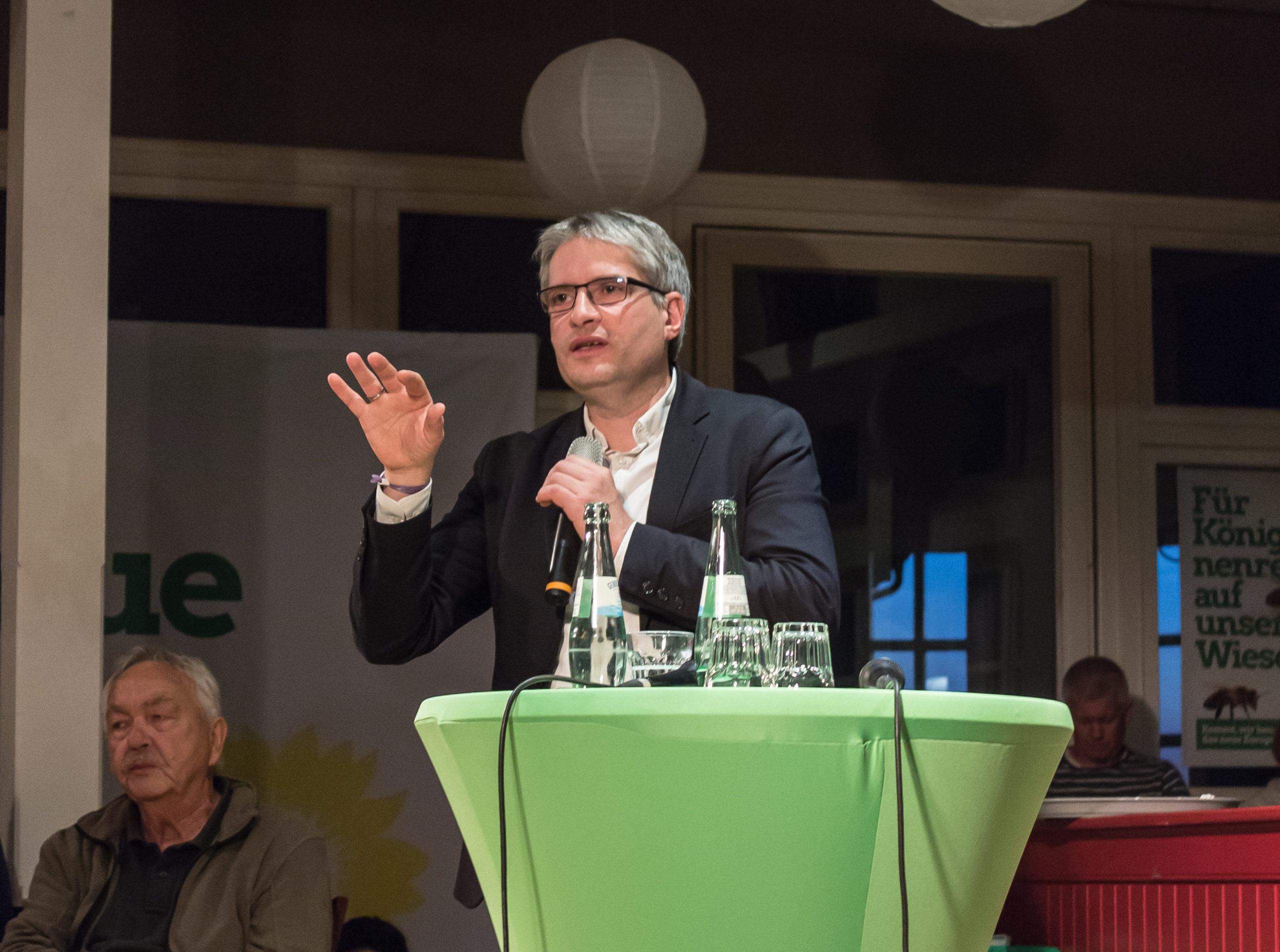 Sven Giegold wirbt für Europa