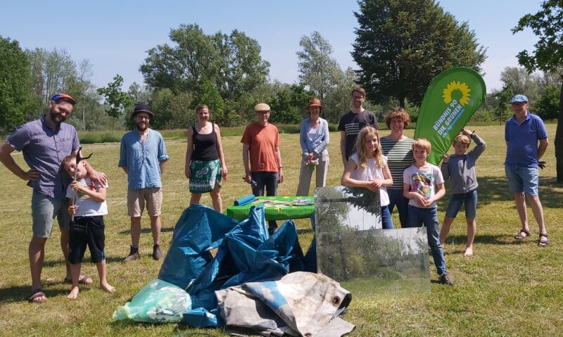 Müllsammelaktion in Hitzacker