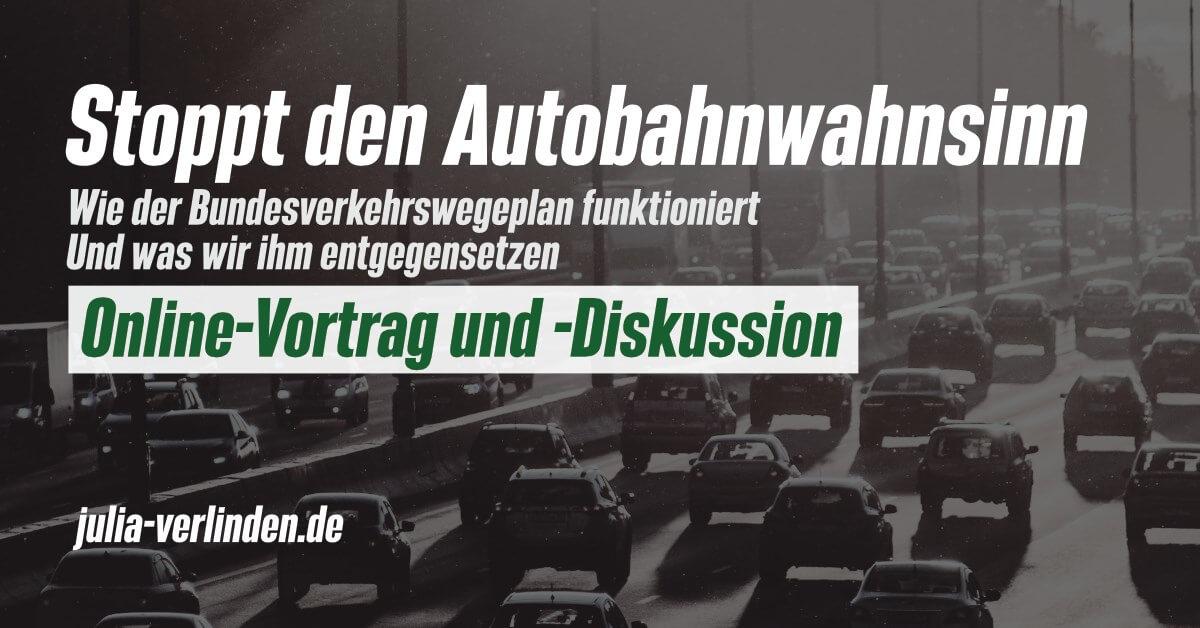 Diskussion: Autobahnwahnsinn stoppen